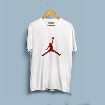 Brother Store Kaos Distro logo Air Jordan RED-White Premium