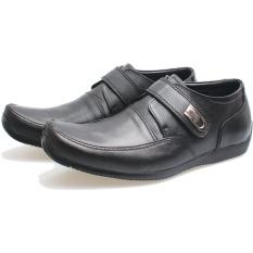 Garsel L126 Sepatu Kerja Pantofel Pria Kulit Bagus Hitam - Update ... 414332301e