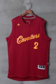 Burgundy Basketball Jersey NBA #2 2016 Christmas Day Kyrie IrvingCleveland Cavaliers Professional Summer Quick Dry