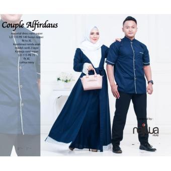 Busana Muslim Couple Alfirdaus Baju Pasangan Gamis