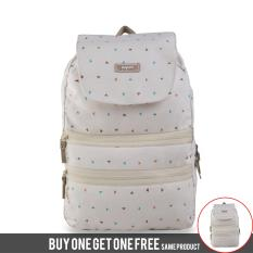 BUY 1 GET 1 FREE Exsport Club 8 Backpack - Cream