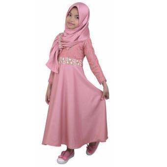 Garsel Fashion Baju Dress Setelan Muslim Anak Perempuan Fwr 0065 Source · eShop Checker C junior Baju dress muslim anak Perempuan cewek trendy DKJR 389 ...
