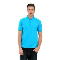 Carvil GTA Kaus Polo Pria - Blue Turquoise