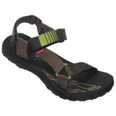 CARVIL - MAN SANDAL GUNUNG ANTONIO-GM BLACK-OLIVE