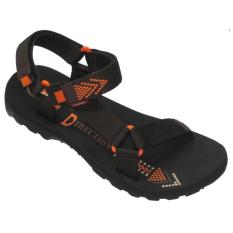 CARVIL - MAN SANDAL GUNUNG DIRECTION-GM BLACK-BROWN