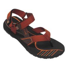 CARVIL - MAN SANDAL GUNUNG EMERSON-GM BLACK- TERAKOTA