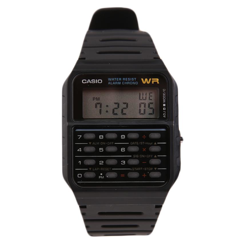 Casio Jam Tangan Digital Lw 200 4b Merah .