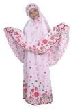 Jual Catenzo Junior Mukena Anak Warna Putih Motif Bunga Bunga Caox090 Branded Original