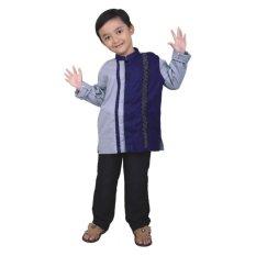 Catenzo Junior Pakaian Muslim Anak  CDHx212 Grey Comb