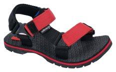 Catenzo Junior Sandal Gunung Anak - Red Line CJJx002 Black Red