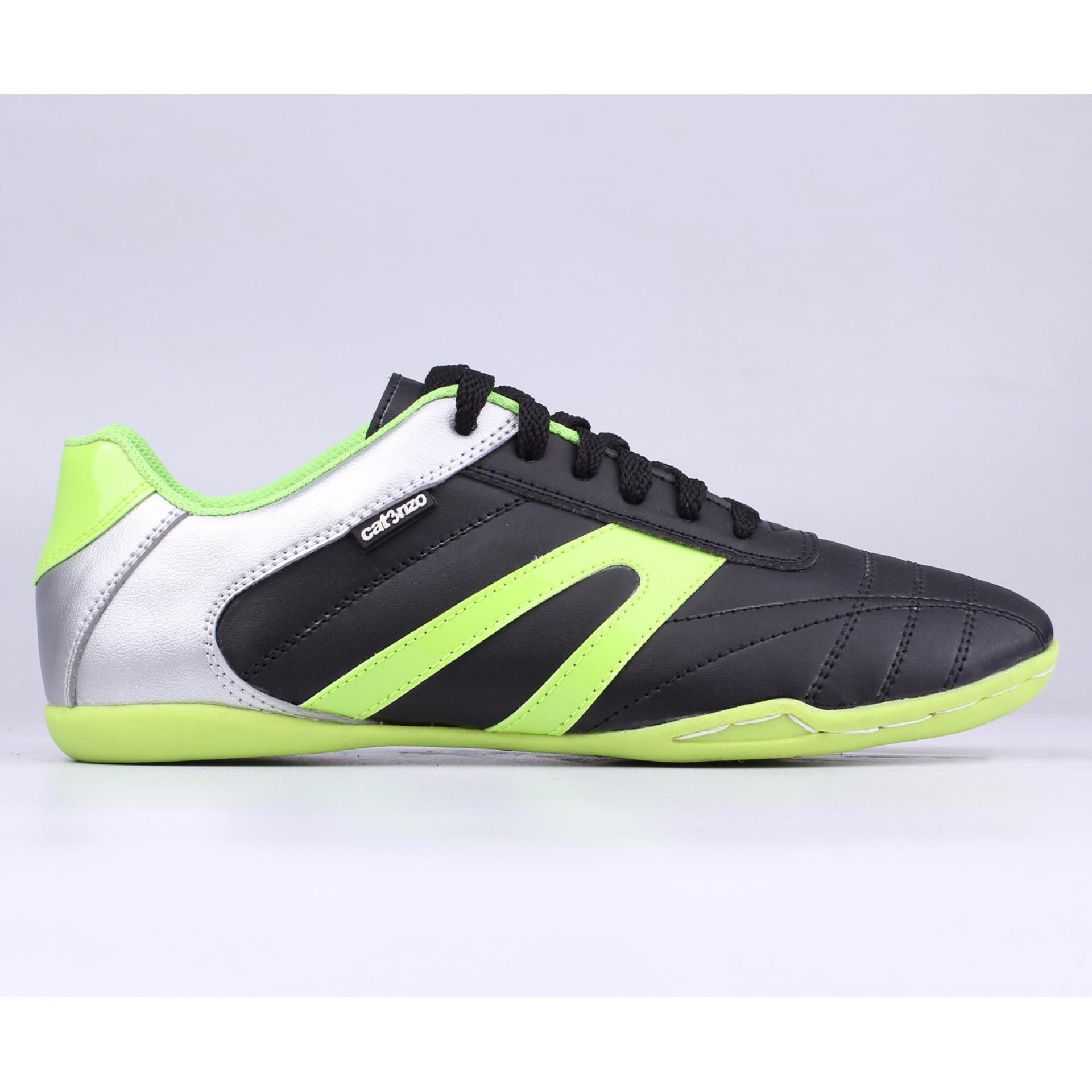 Harga Baru Catenzo Sport Shoes Sepatu Futsal Pria Ns 090 Black High Super Green