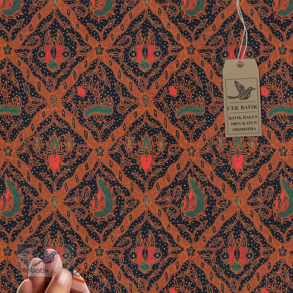 Cek Batik Kain Batik Motif Batik Classic Sidomukti Kumbang