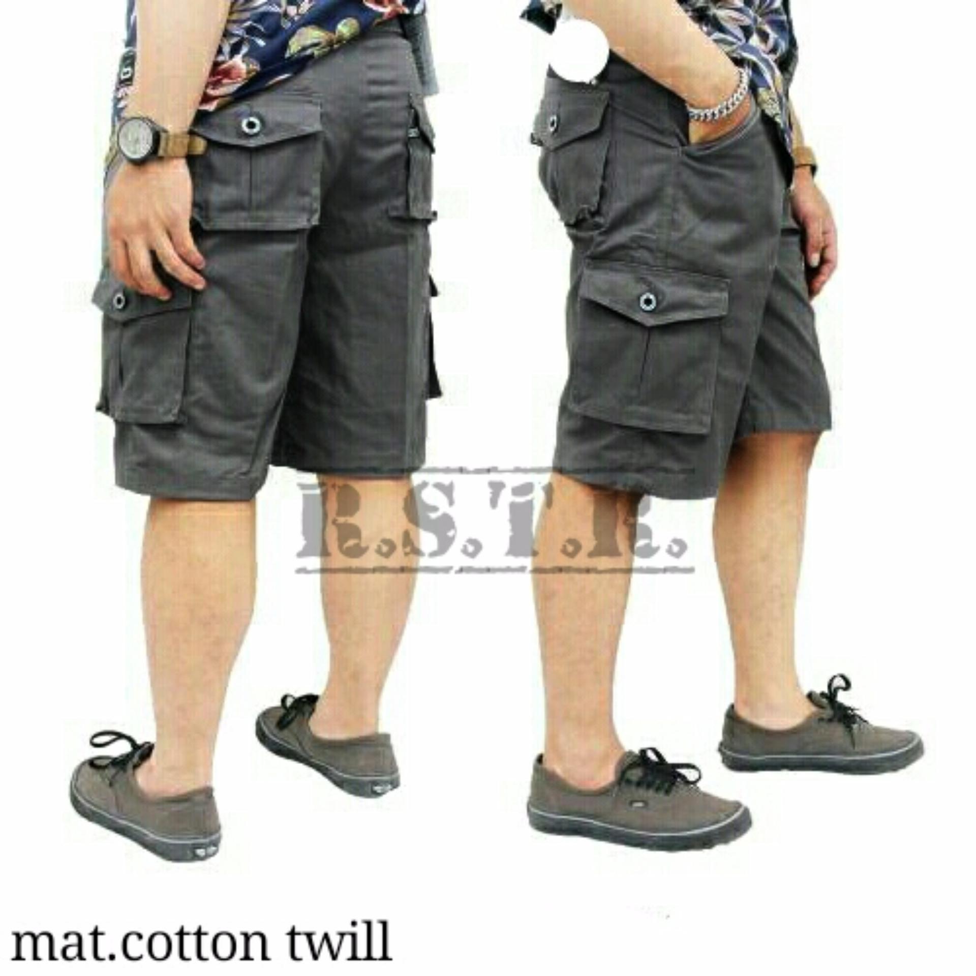 Valco Three Denim Celana Cargo Panjang Slimfit Pria Navy Beli Source · Celana cargo pendek pria
