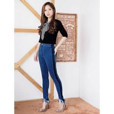 Celana Jeans Wanita – HW Premium – Harga Murah –- HW punny List Dark Lining - Ancien Store
