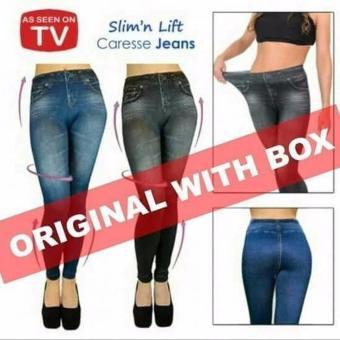 Celana Legging Jeans Slim Girl One Size