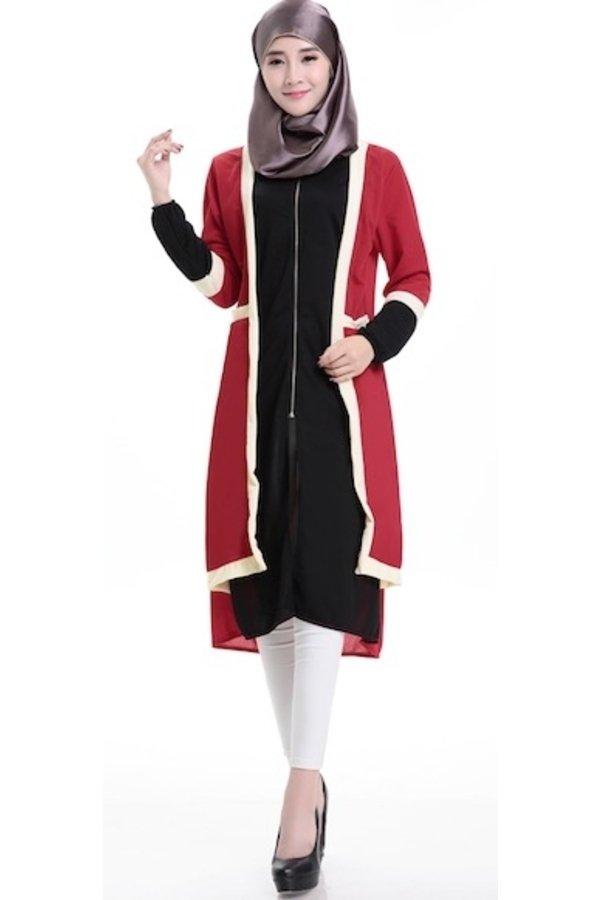 ... Chloe's Clozette Baju Muslim Dress Gamis Lengan Panjang kode MD 17 ...