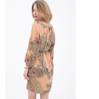 cicilia dress fashion wanita cantik-dress batik