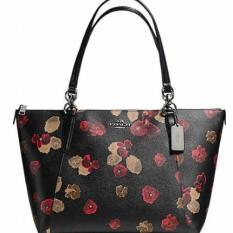 Coach Ava Halftone Black Floral F55541 Authentic Original USA Store