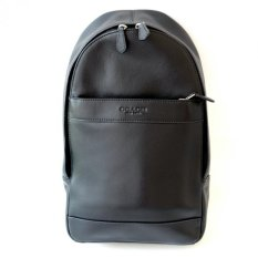 Coach Man Backpack in Smooth Leather F54770 (Black)