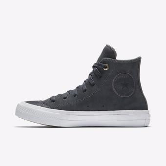 Converse Chuck Taylor 2 Craft Leather Lunarlon Hi - Grey