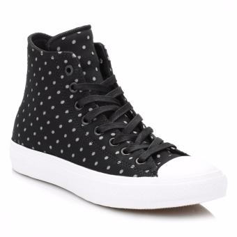 Converse Chuck Taylor All Star 2 Shield Lyra Lunarlon Hi Polka - Black