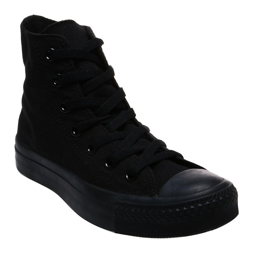 converse unisex. converse chuck taylor as canvas hi unisex sneaker - mono black   lazada indonesia