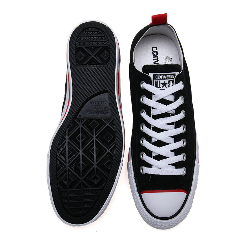 converse chuck taylor a/s speciality ox unisex sneakers - hitam/merah