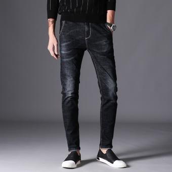 Review of Coolmaxcat harus panjang elastis celana musim gugur baru celana jeans (Hitam) shock
