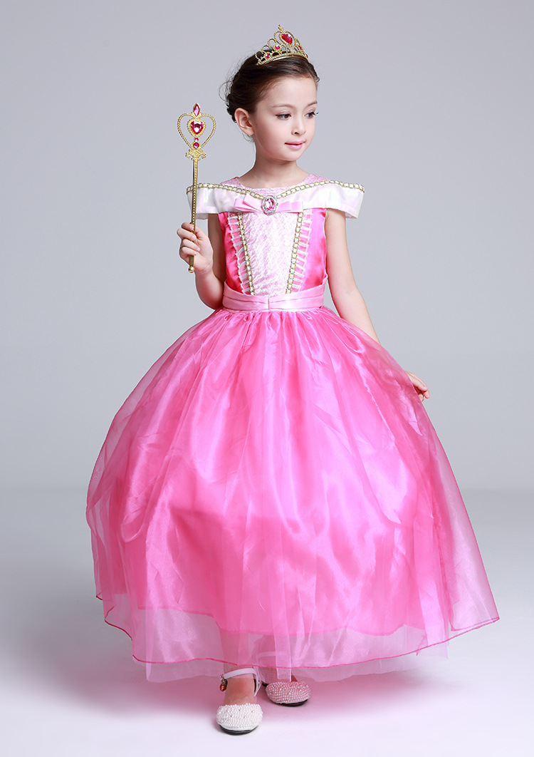Cheap online Cos model baru jatuh Halloween untuk anak perempuan rok (Merah muda)