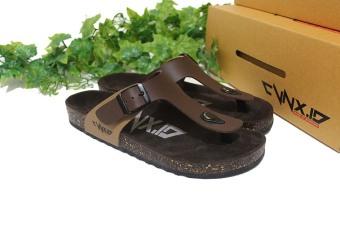 CVNX.ID - Sandal Pria CVNX.ID G1CT (Coklat)