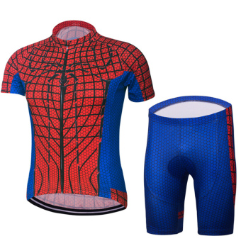 Cycling Suits Set Cycling Jersey Short Pants Short Sleeve Sportswear Quick Dry Anti-sweat Bicycle Set - intl