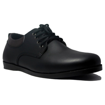 Harga D-Island Shoes Formal Muller Luxury Leather - Hitam