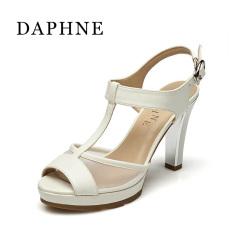 Daphne jahitan kata gesper musim semi dan musim panas T jenis gesper kasa (Putih 101