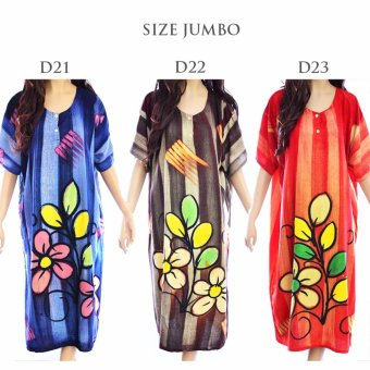 Daster Batik Baju Tidur Jumbo Rayon LD22
