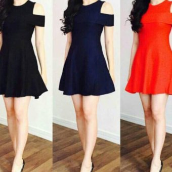 DaveCollection Dress Sabrina - NavyBlue