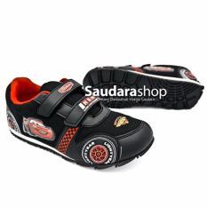Disney Sepatu Cars / Sepatu Anak Cars Hitam [26-35] / Sepatu Cars