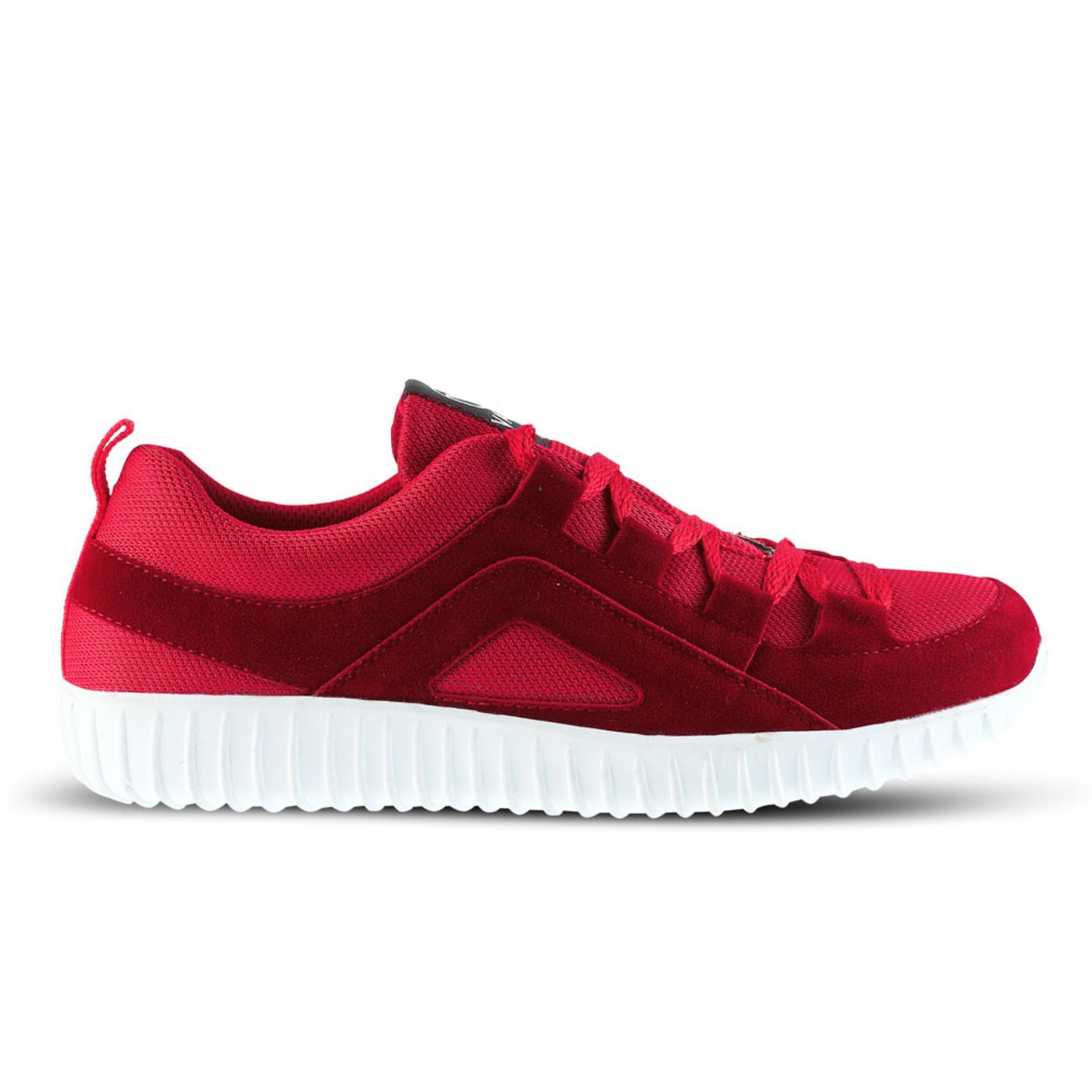 Bandingkan Simpan Distro Bandung Vr 420 Sepatu Sneakers Kets Dan Kasual Pria Merah