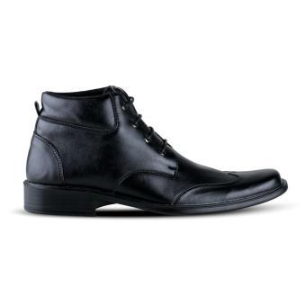 Detail Gambar Distro VD 396 Sepatu Formal Pantofel Pria Untuk Kerja Kantor  - Hitam Terbaru a3330105cc