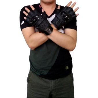 Cek Harga Sarung Tangan Tactical Sarung Tangan Blackhawk Bulan Ini Source · dm Sarung Tangan Batok Half Finger Kulit Asli Hitam