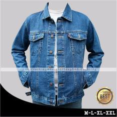 DnR New Denim Jacket Mens - Bluewash