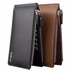 Dompet IMPOR Fashion Baellerry #A013 Card Holder Kartu Bisnis Baelerry - HITAM