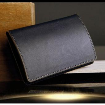 Dompet Kartu Nama ID Card Holder Genuine Leather Kulit AsliOriginal Import