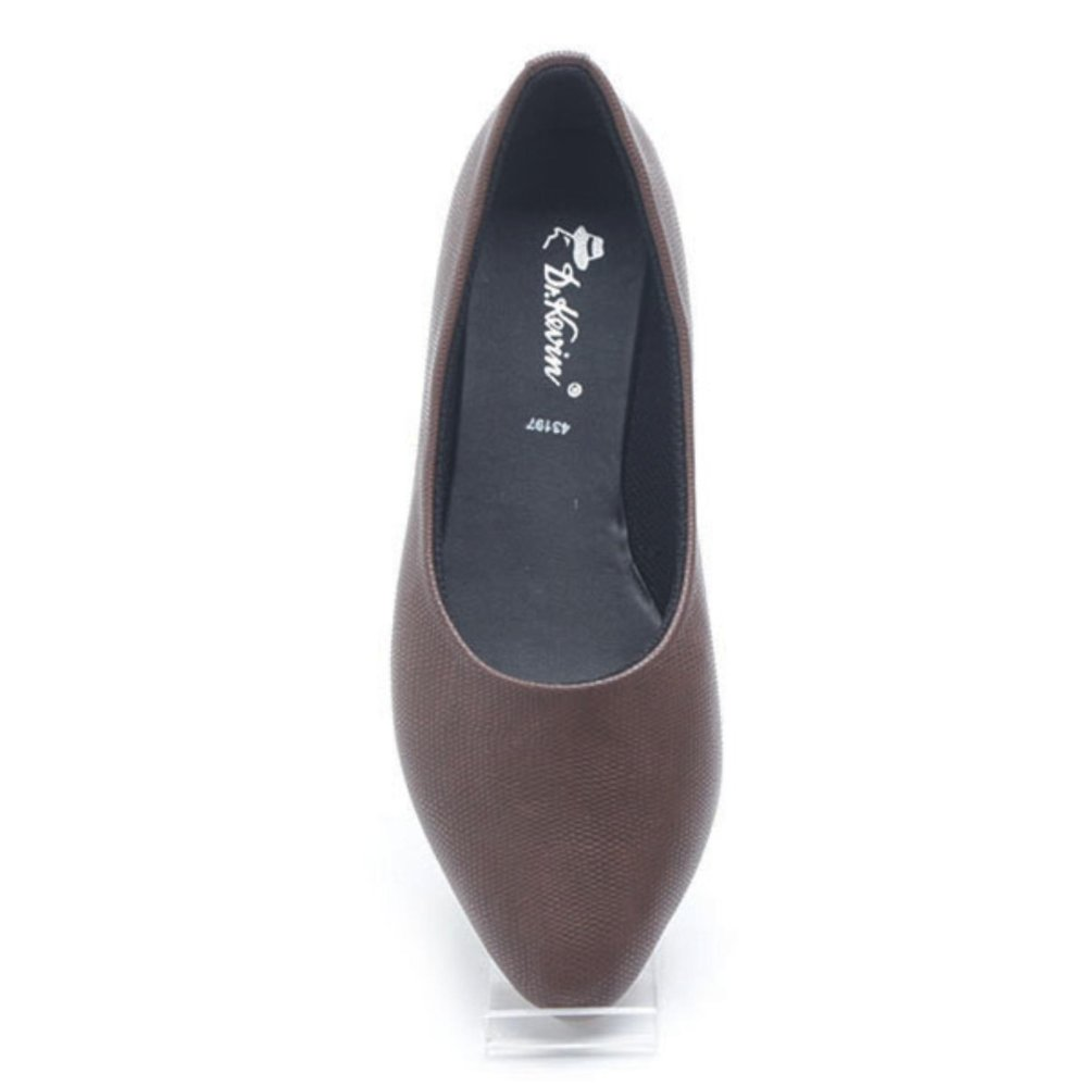 ... Dr Kevin Women Flat Shoes 43197 Brown