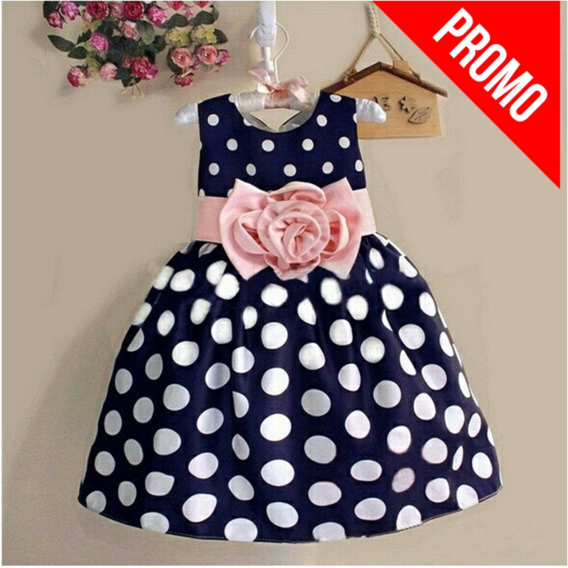 Dress anak | Baju anak | Pakaian anak Polka