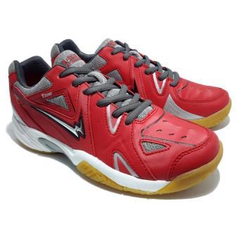 Harga Eagle Thor Sepatu Badminton Merah Online Murah - dekutoko f4d5bb7636