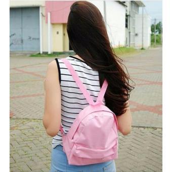 EL PIAZA Mini Ransel Backpacks Kanvas Ransel Mini Ransel Lucu TasRansel Sling Bag Tas Slempang Tas