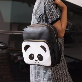BELI SEKARANG EL PIAZA Mini Ransel Kulit Panda Black Ransel Mini Ransel Lucu TasRansel Sling Bag Tas Slempang Tas Sekolah Anak Tas Berpergian TasTravelling ...