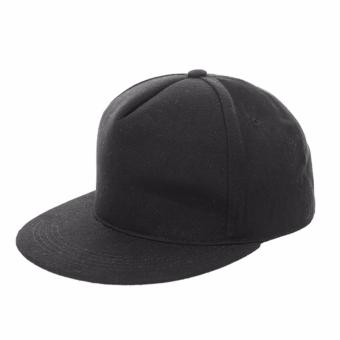 Elfs Shop - Topi Snapback Simple - Hitam