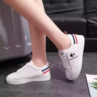 Ellen Taslim Sneakers Mr. Mustache - Putih - 2