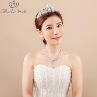 Es Api Model Korea Baru Menikah Putri Mahkota Mempelai Wanita Asesoris